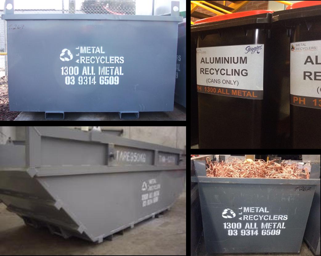 Scrap Metal Bins