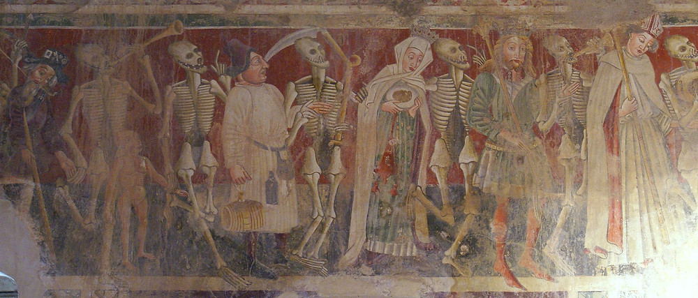 Beram Dance of Death, painted by Vincent of Kastav