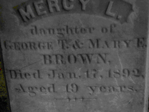The Mercy Brown Vampire Incident