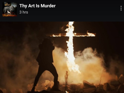 """Thy Art Is Murder - """"The Son of Misery"""" Video"""