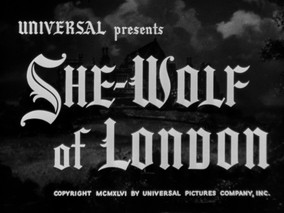 31 Weeks to Halloween: She-Wolf of London (1946)
