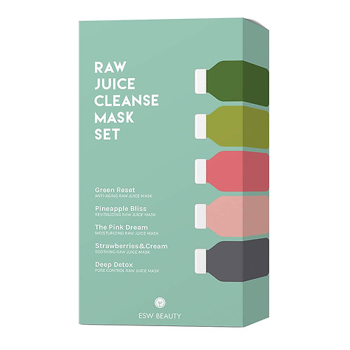 ESW Raw Juice Cleanse Mask Set
