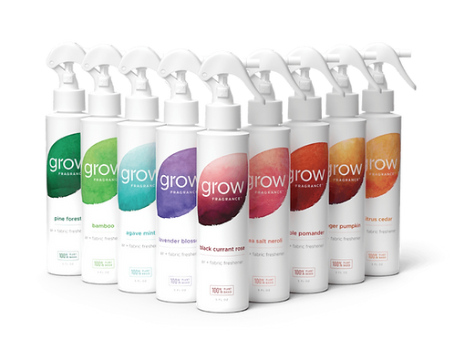 Grow Fragrance Air + Fabric Freshener