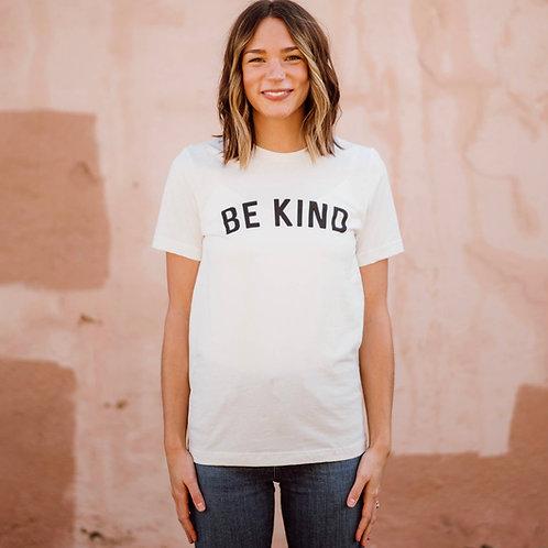 Be Kind Unisex Tee - Vintage White