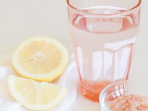 Himalayan Pink Salt Infused Water aka Sole