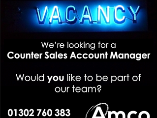 Doncaster are looking for a Counter Sales Account Manager