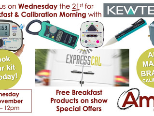 Doncaster Breakfast & Calibration Morning - Wednesday 21st November