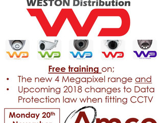 Doncaster Breakfast & CCTV Training - Monday 20th November