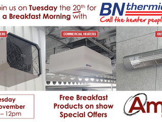 Doncaster Breakfast Morning - Tuesday 20th November