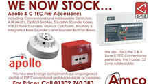 Doncaster - Apollo and C-TEC lines now in stock