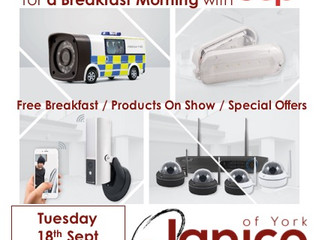Janico Breakfast Morning - Tuesday 18th September