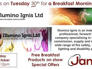 York Breakfast Morning - Tuesday 30th October