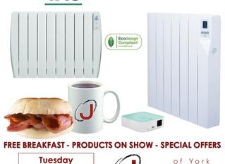 York Breakfast Morning - Tuesday 12th November