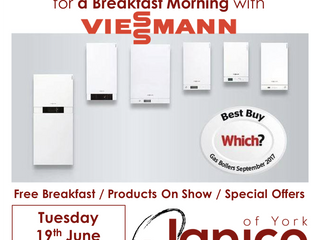 Janico Breakfast Morning - Tuesday 19th June