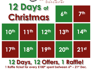 Doncaster's 12 Days of Christmas is back!