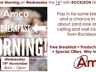Barnsley Breakfast Morning - Wednesday 14th November