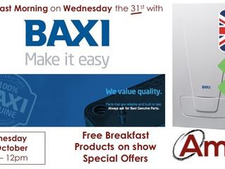 Barnsley Breakfast Morning - Wednesday 31st October