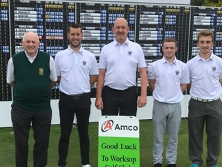 Amco support Worksop Golf Club in English Champion Club competition