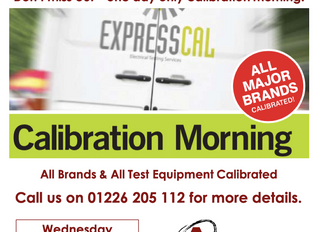 Barnsley Calibration Morning - Wednesday 27th November