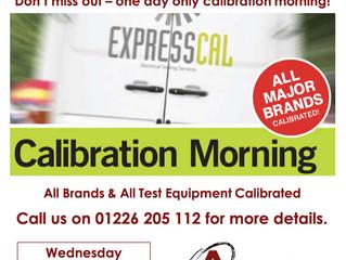 Barnsley Calibration Morning - Wednesday 27th November