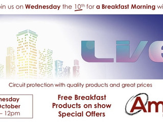 Doncaster Breakfast Morning - Wednesday 10th October