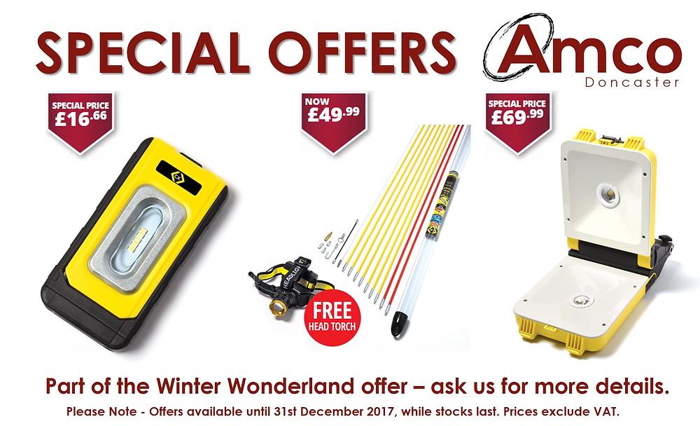 C.K Tools Winter Wonderland Promotion