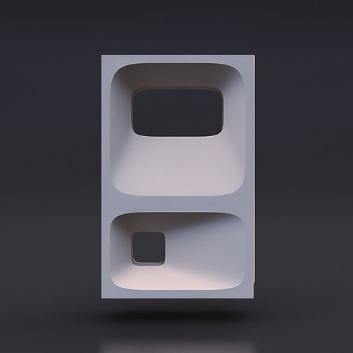 3D Блок № 001