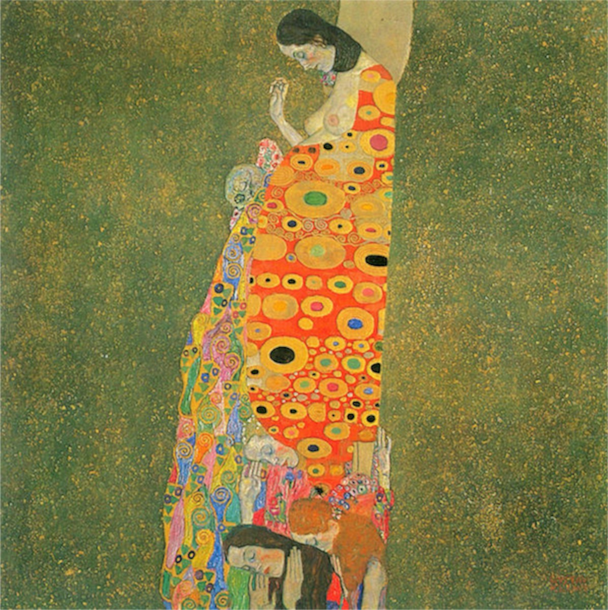 Abandoned Hope by Klimt