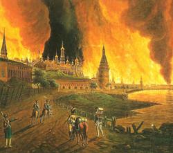 L'incendie de Moscou