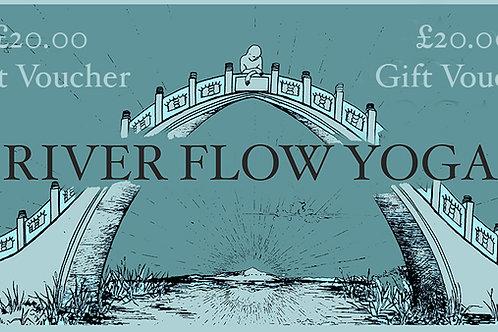 £20 River Flow Yoga Gift Voucher