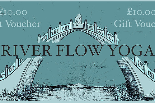 £10 River Flow Yoga Gift Voucher