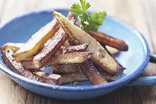 Taça de batatas fritas Chunky