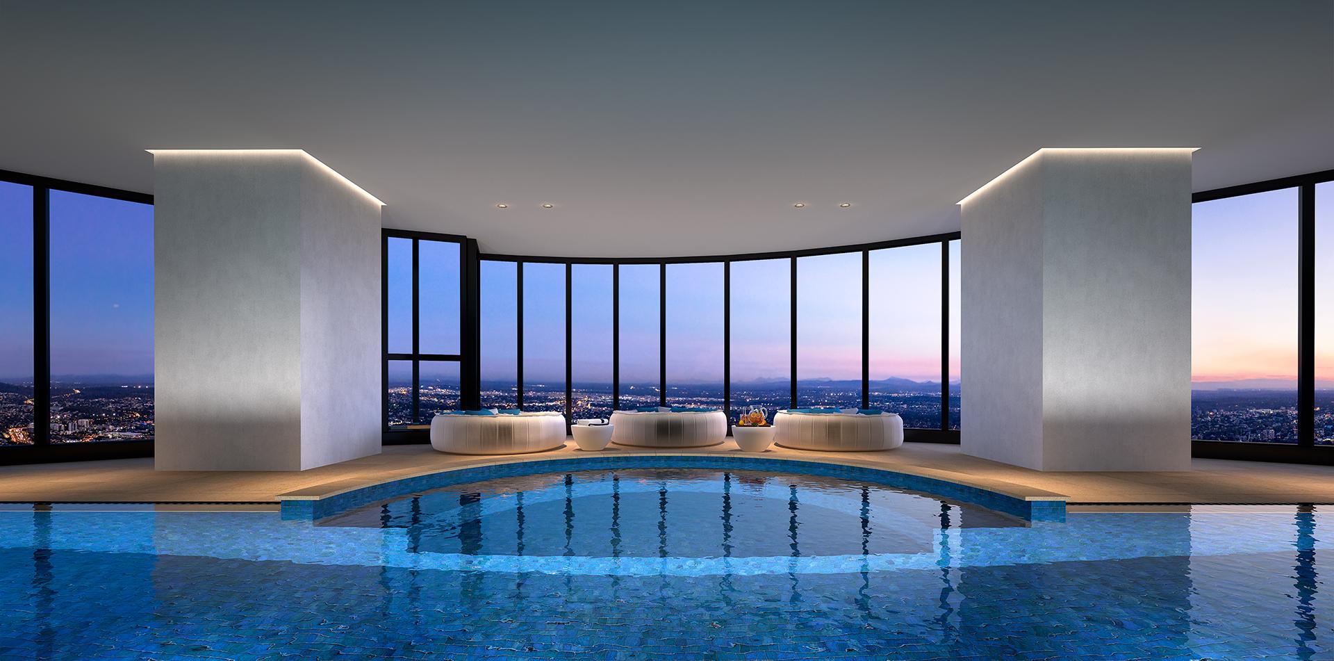 The One Residences Quarter Deck Pool Vie