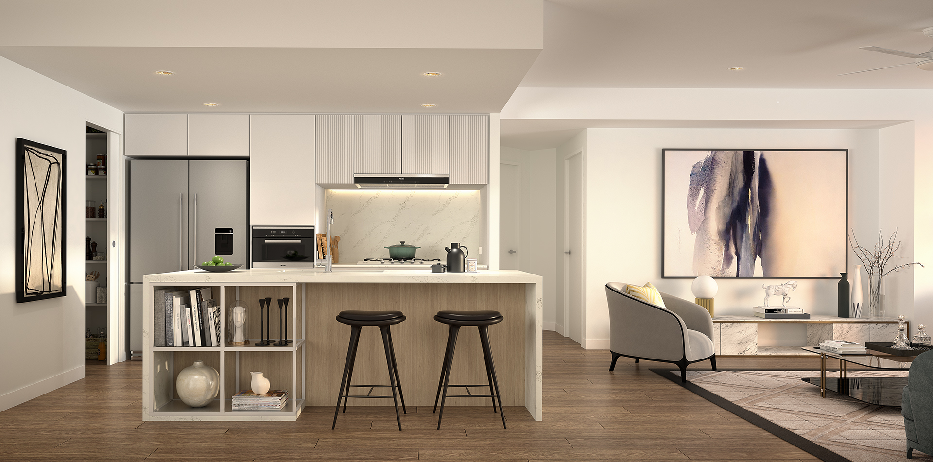 Copy of The One Residences 3 bed Kitchen