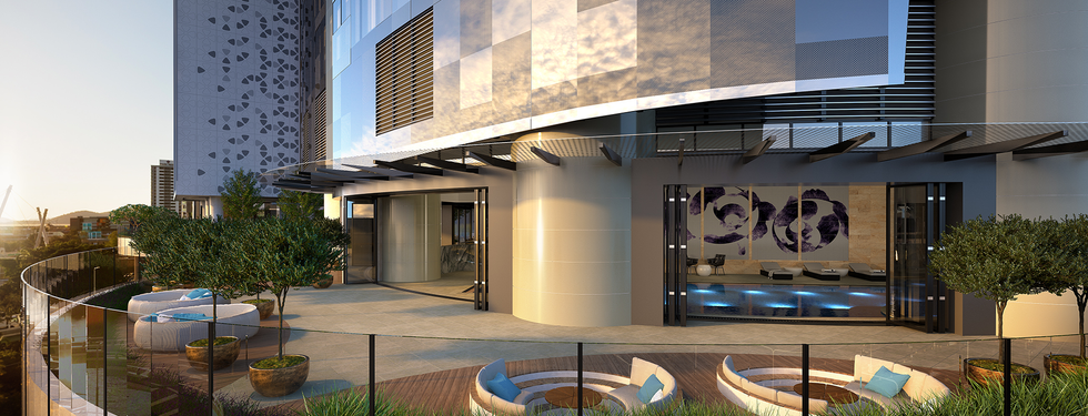 The One Residences Pool River Deck L4.pn