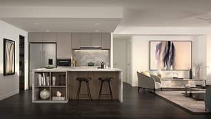 The One Residences 3 bed Kitchen_Dark Sc