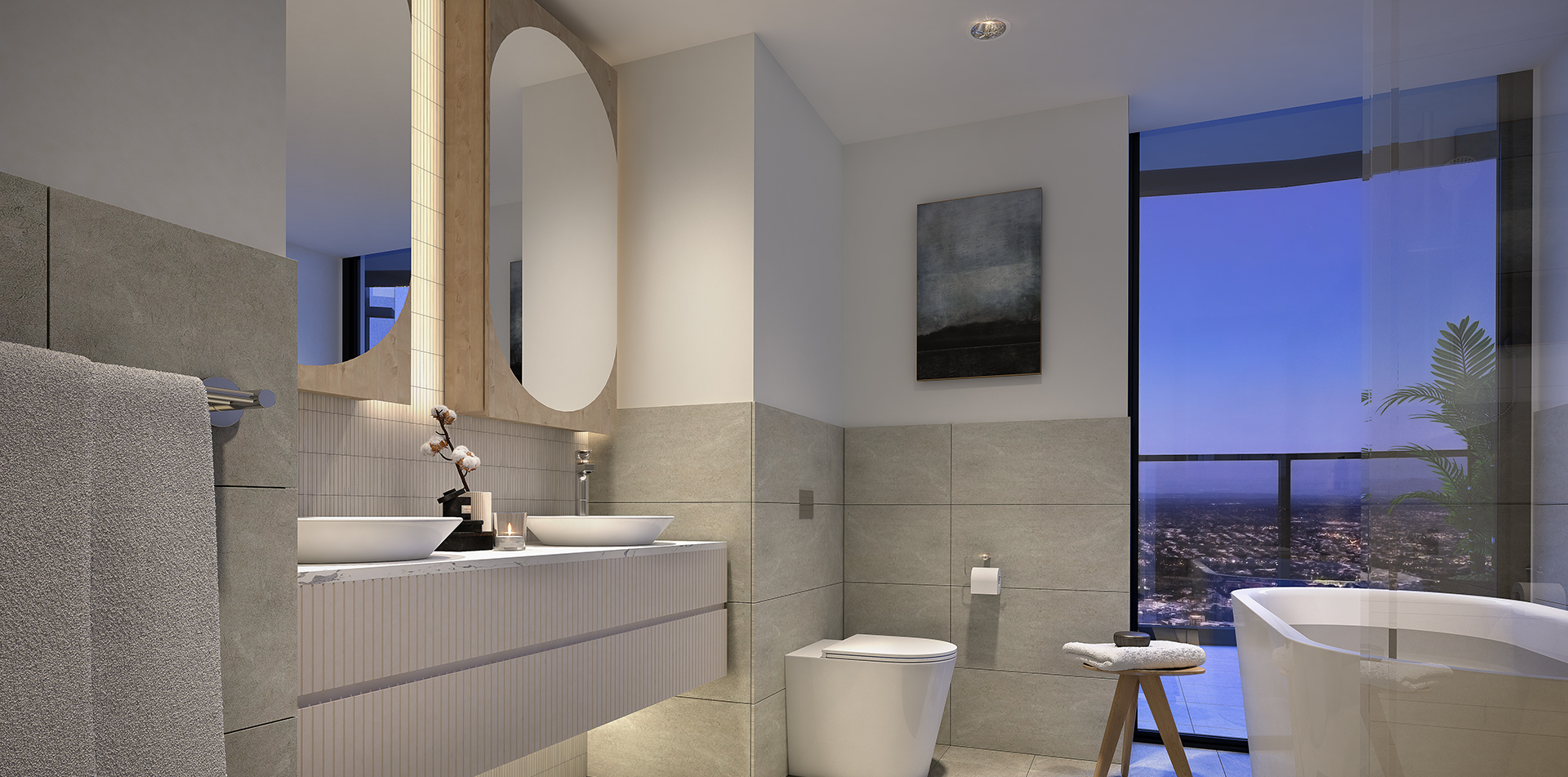Copy of The One Residences 3 bed Bathroo