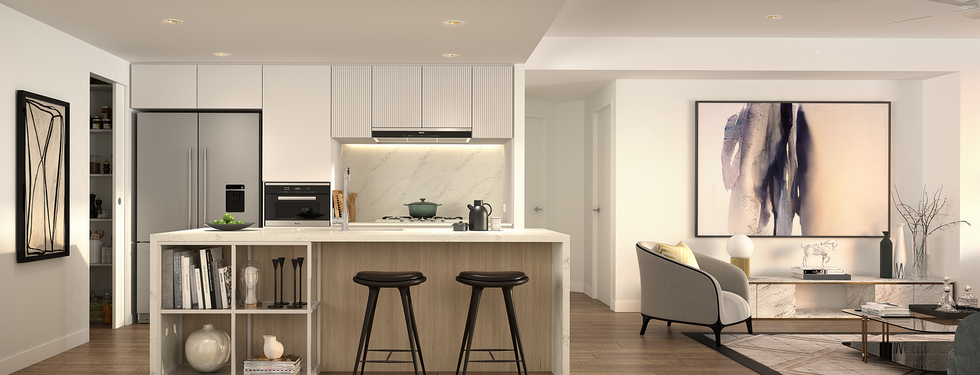 The One Residences 3 bed Kitchen_Light S