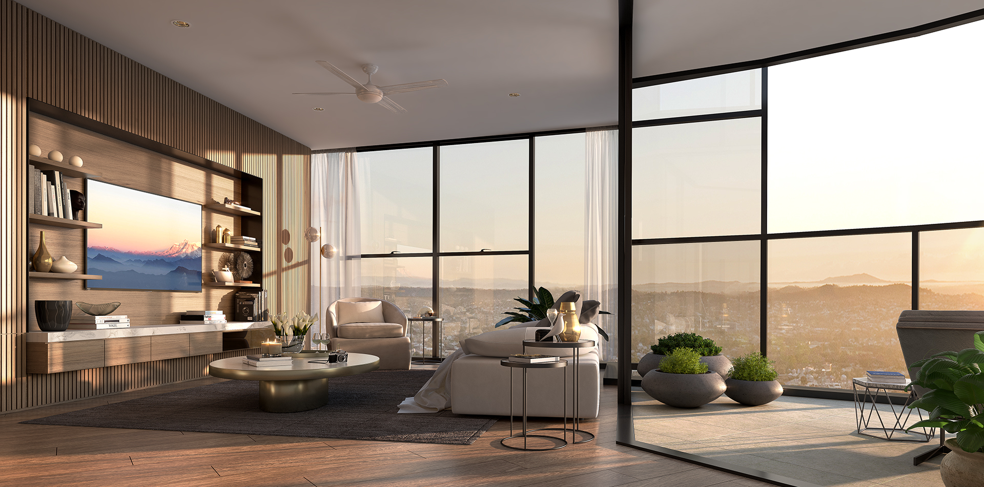 Copy of The One Residences 3 bed Living.