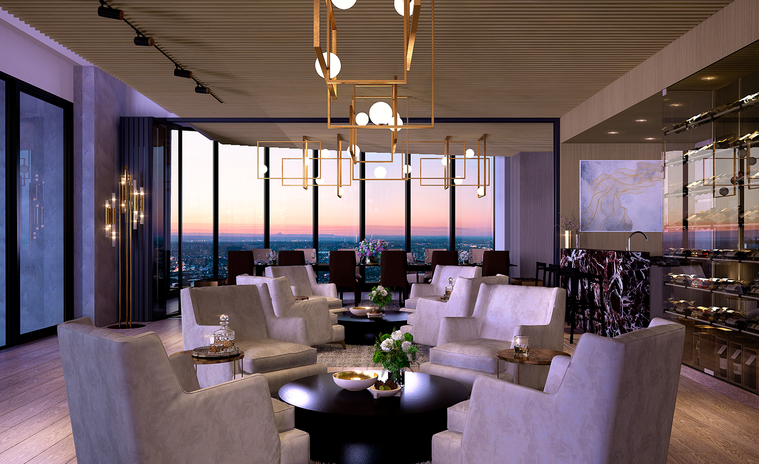 The One Residences Quarter Deck Lounge L