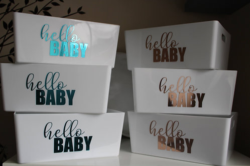 Hello Baby Box (can be personalised)