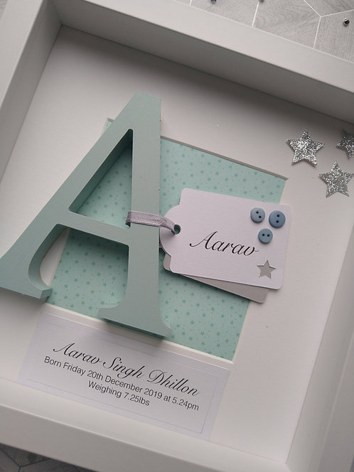 Personalised Newborn Frame