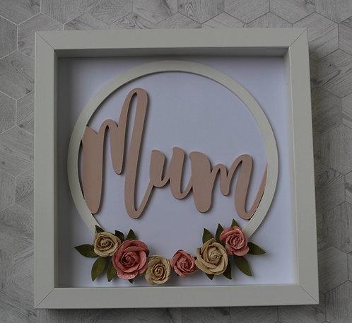 Framed Mum Hoop