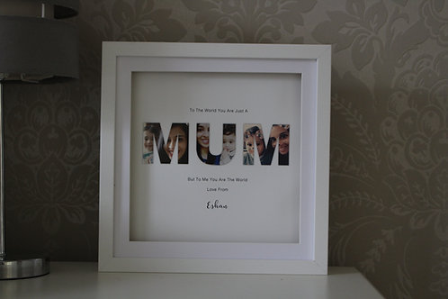 Personalised Mum Frame