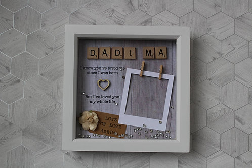 Personalised Grandparents Frame