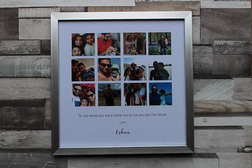 Personalised Fathers Day Frame (12)