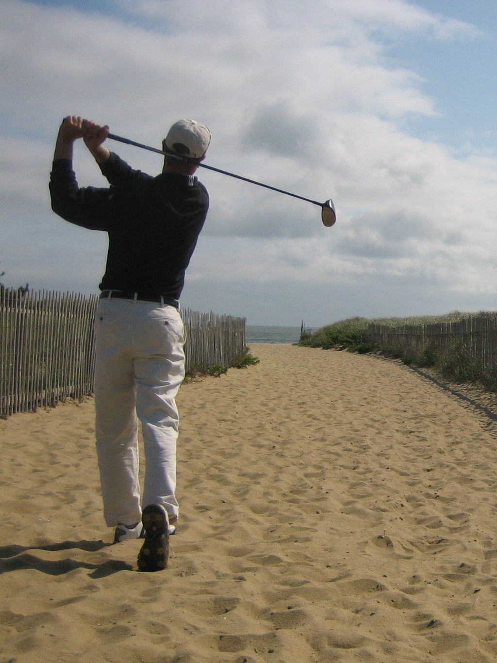 ack beach golf swing