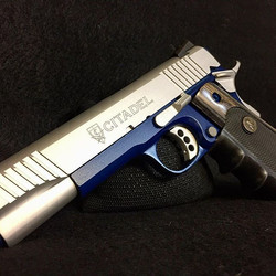 When two great gun coatings come together on one project. Cerakote Satin Aluminum over KG Gun Kote S