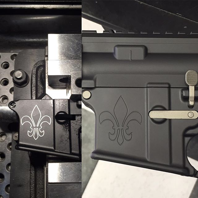 Custom engraving and Cerakote