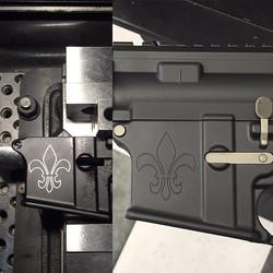 Custom engraving and Cerakote